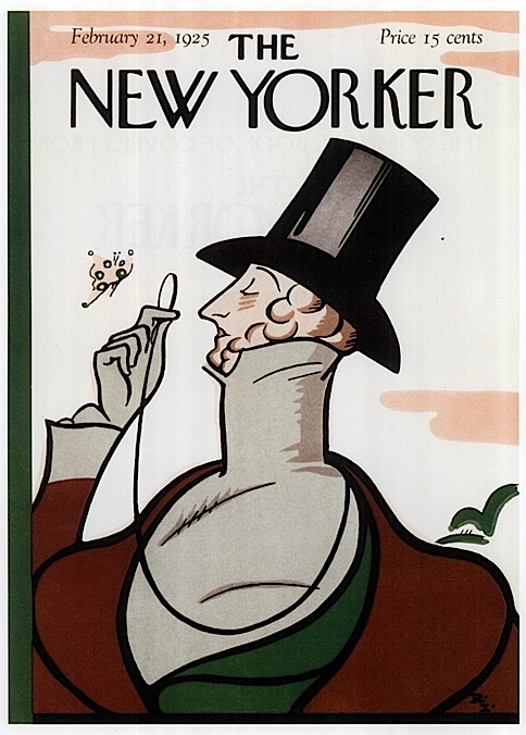 new yorker first cover, 1925