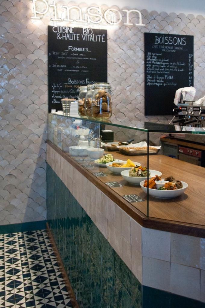 Cafè Pinson X, Paris. © Paul Bowyer