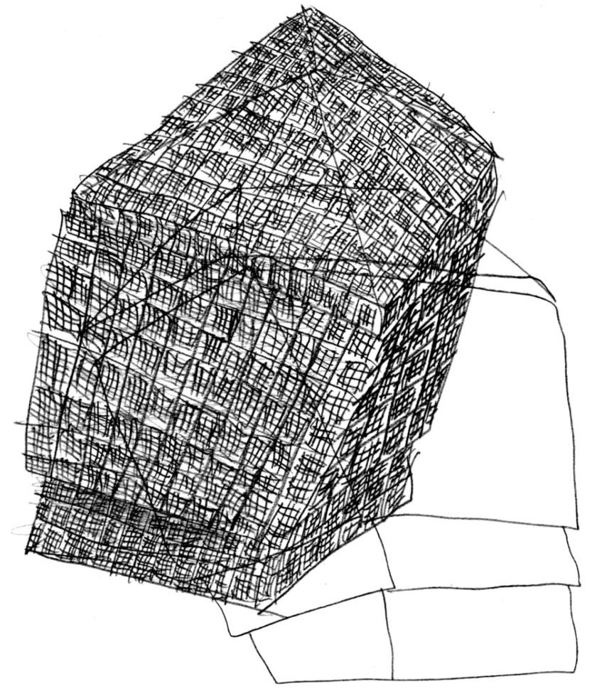 Studi-per-Baracche-matita-su-carta-2014