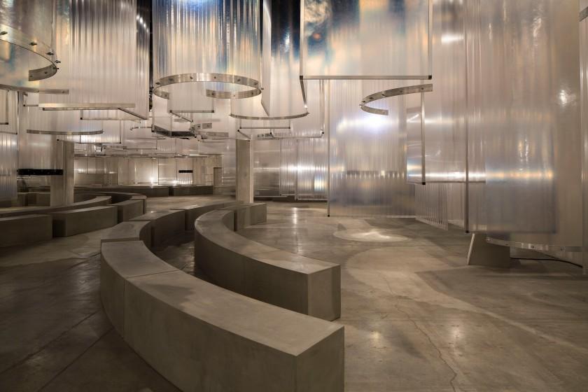 Prada Men's SS16 Fashion showspace (1)