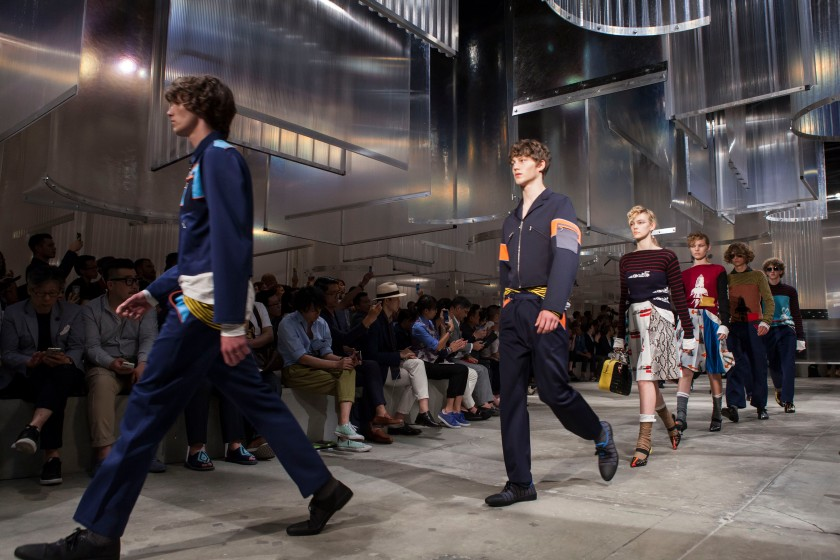 Prada Men's SS16 Fashion showspace_Parade 1