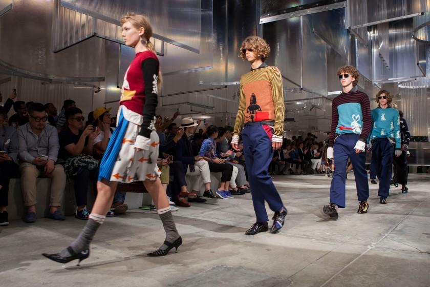 Prada Men's SS16 Fashion showspace_Parade 3