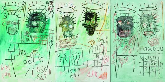 Jean-Michel Basquiat Six Crimee, 1982 © Estate of Jean-Michel Basquiat. Licensed by Artestar, New York