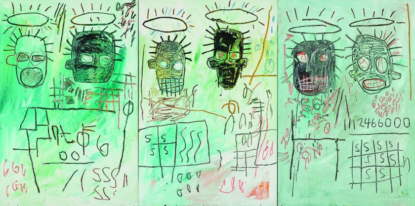 Jean-Michel Basquiat Six Crimee, 1982 © Estate of Jean-Michel Basquiat. Licensed by Artestar, New York