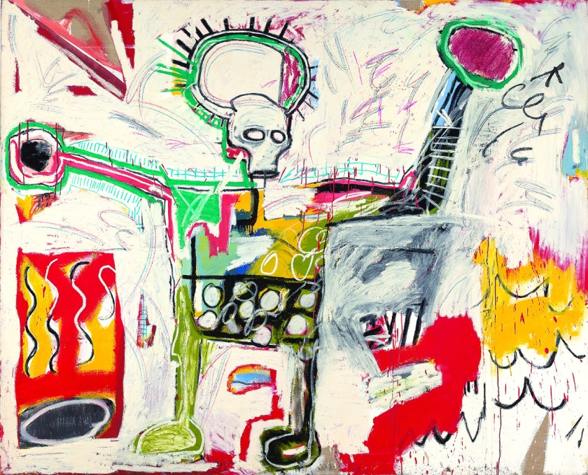 Jean-Michel Basquiat Untitled, 1982 © The Estate of Jean-Michel Basquiat Licensed by Artestar, New York