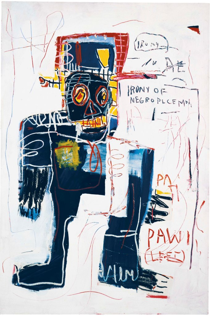 Jean Michel Basquiat Irony of a Negro Policeman, 1981 © Estate of Jean-Michel Basquiat. Licensed by Artestar, New York