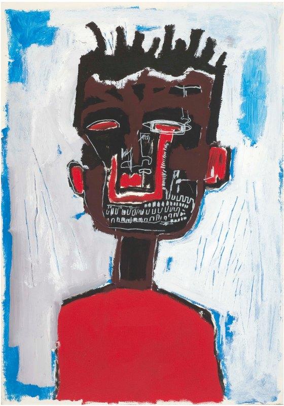 Jean Michel Basquiat Self-Portrait, 1984 © Estate of Jean-Michel Basquiat. Licensed by Artestar, New York