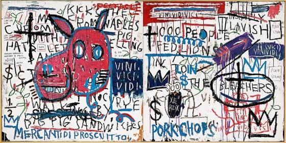 Jean-Michel Basquiat Man from Naples, 1982 © Estate of Jean-Michel Basquiat. Licensed by Artestar, New York