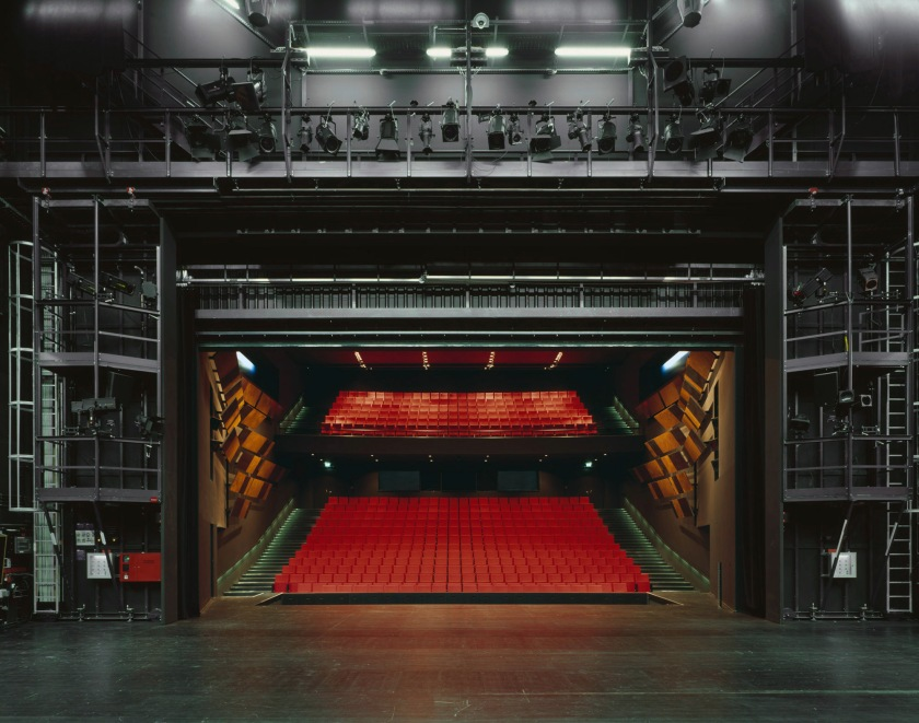 Theater Gütersloh, 2010. © Klaus Frahm. This image gave the idea to start this series.