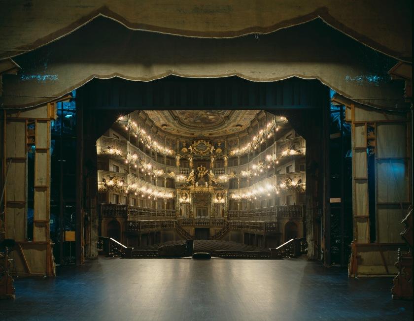Markgräfliches Opernhaus, Bayreuth, 1997 © Klaus Frahm.