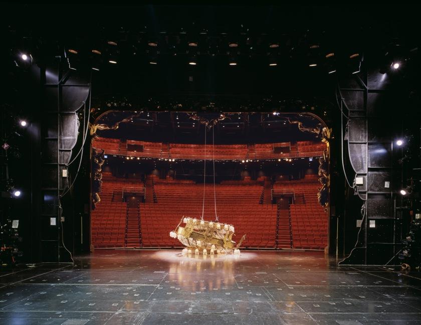 Neue Flora, Hamburg, 2015 Musical-stage, Phantom of the Opera. © Klaus Frahm.