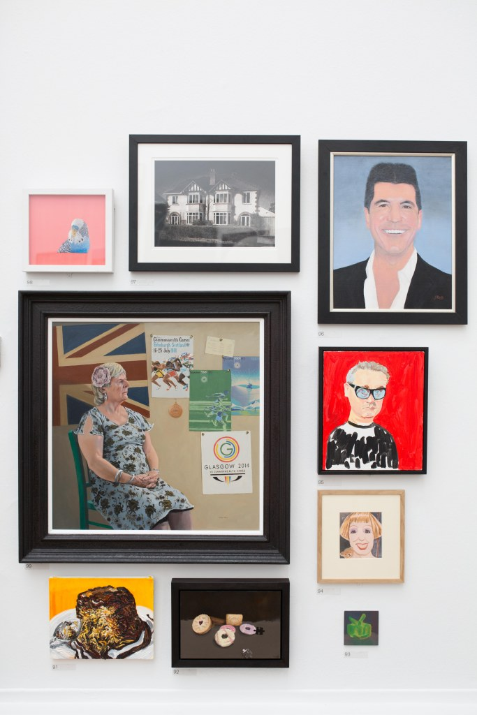 Works on display in Gallery II of the Summer Exhibition 2015 (c) David Parry, Royal Academy of Arts