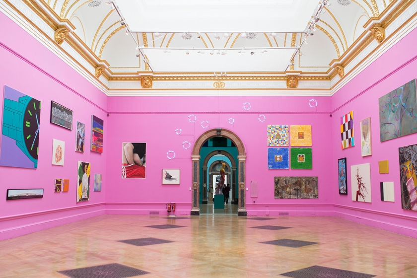 Gallery III of the Summer Exhibition 2015 (c) David Parry, Royal Academy of Arts
