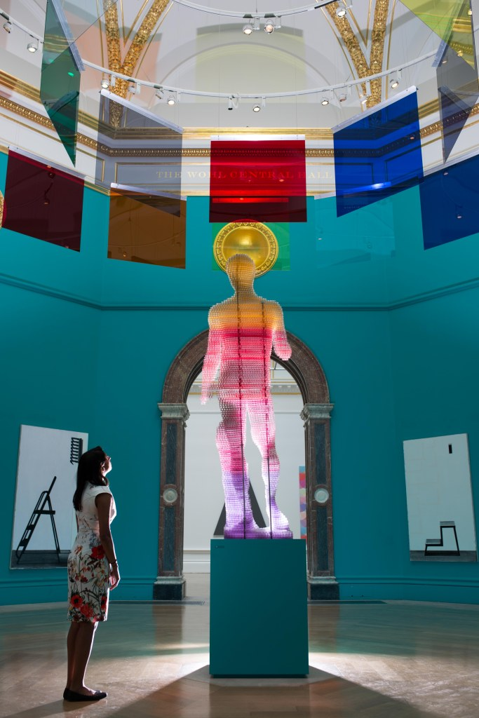 The Central Hall of the Summer Exhibition 2015 (c) David Parry, Royal Academy of Arts
