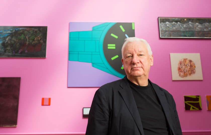 Michael Craig-Martin CBE RA curates explosion of colour in Gallery III of the Summer Exhibition 2015 © David Parry, Royal Academy of Arts