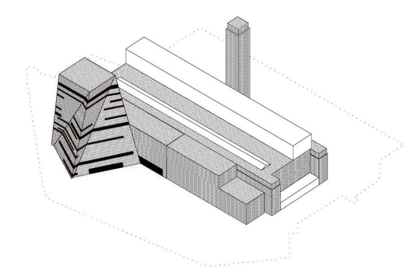 Cuts and Bricks architectural concept © Herzog & de Meuron