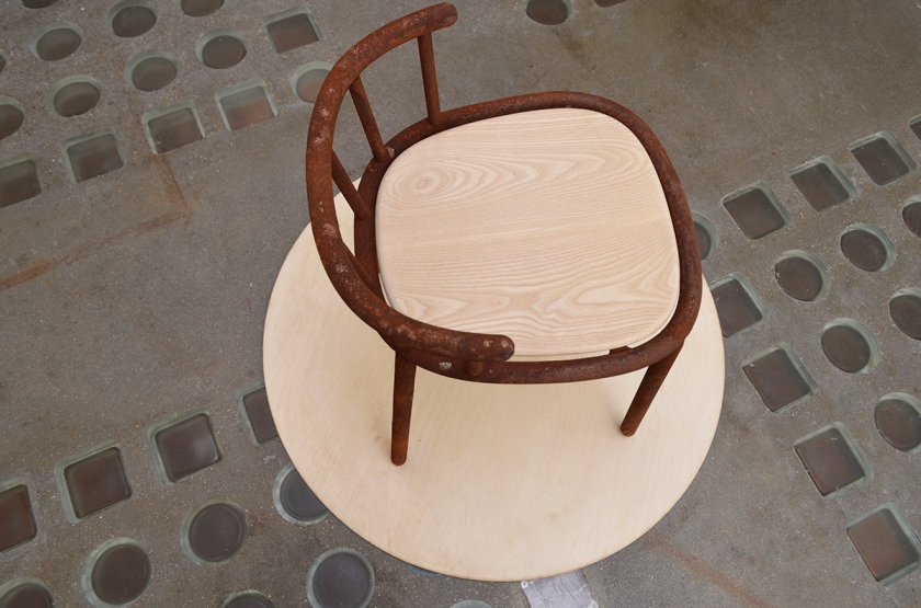 Ripe chair by Andreas Glud Konradsen.