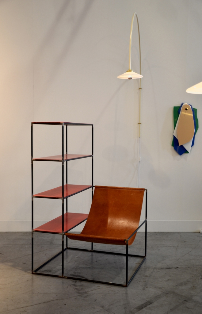 Rack + seat by Muller Van Severen for Valerie Objects.