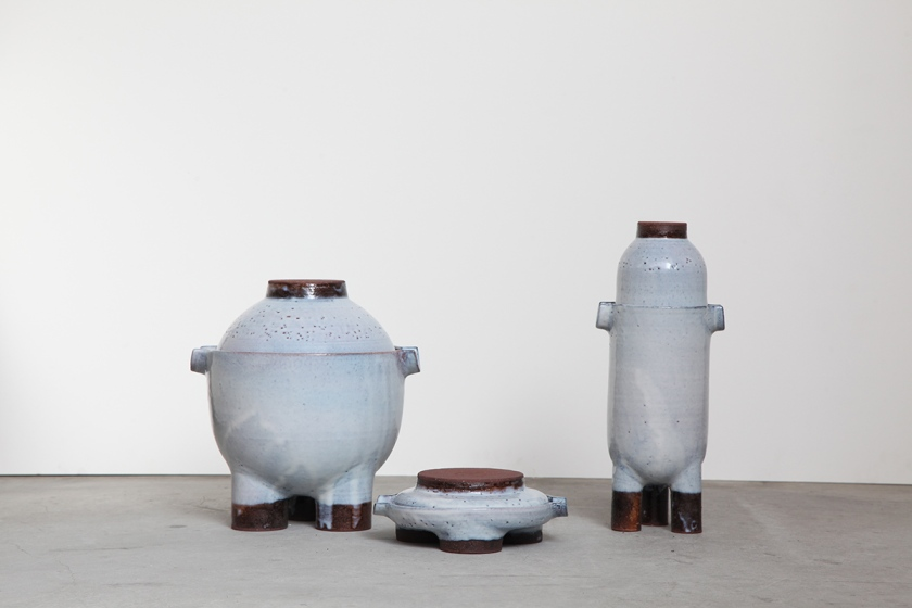 'Pots' by Faye Toogood for E&Y on display at Design Museum, London.