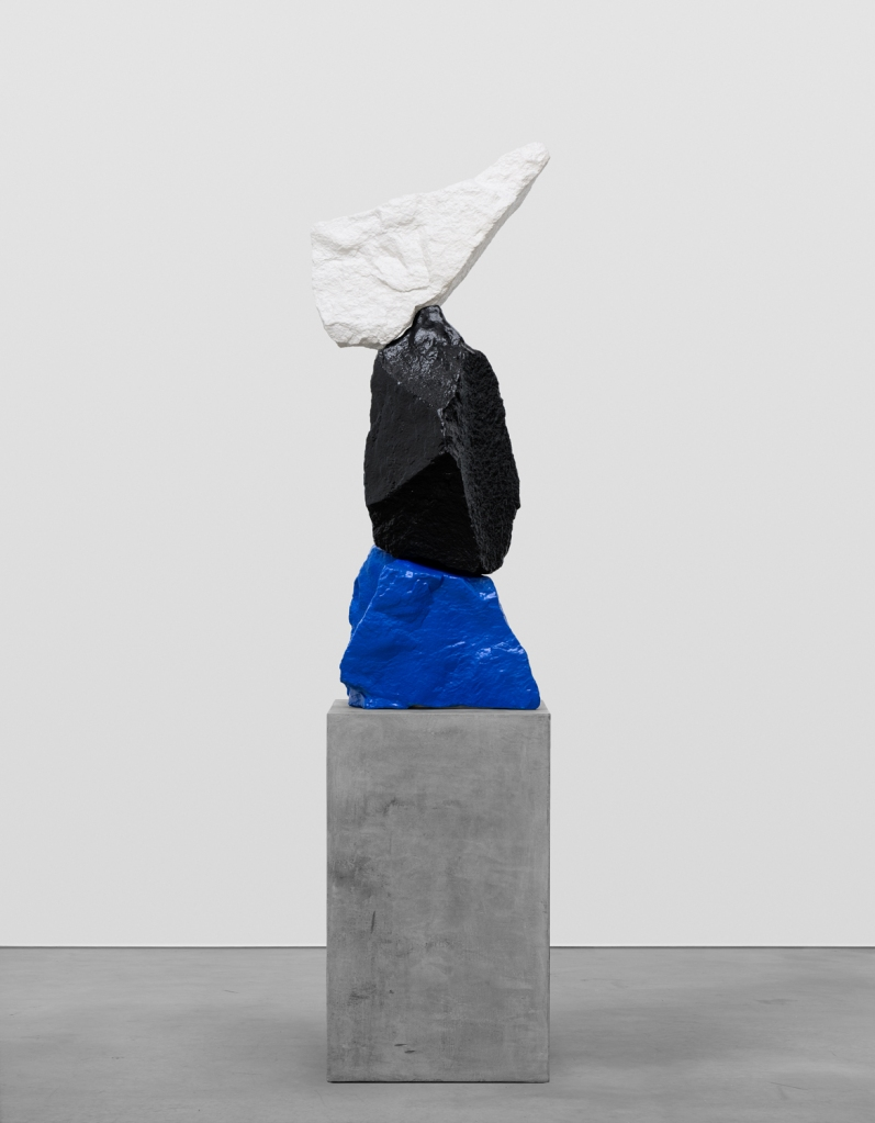 Ugo Rondinone, Blue black white mountain, 2015. Copyright the artist, courtesy Sadie Coles HQ, London.