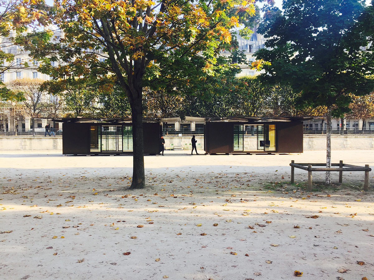 Kiosque, Tuileries Garden // Ronan & Erwan Bouroullec | invasioni ...