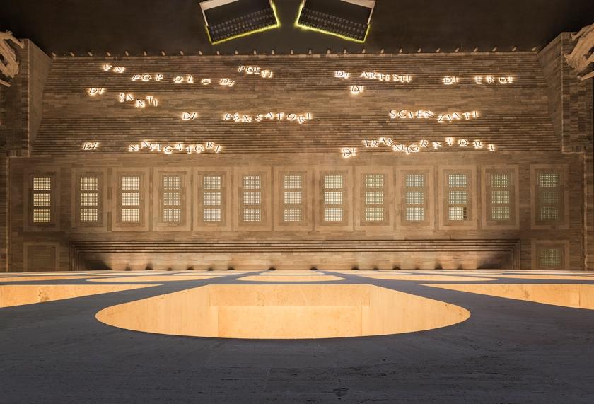 FENDI- Palazzo della Civilt«ˇ Italiana illuminazione Mario Nanni 5