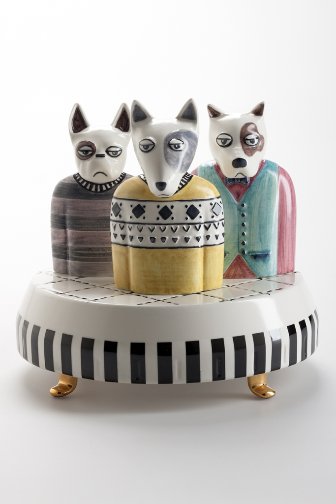 I MOLOSSI, merry-go-round, Elena Salmistraro x Bosa.