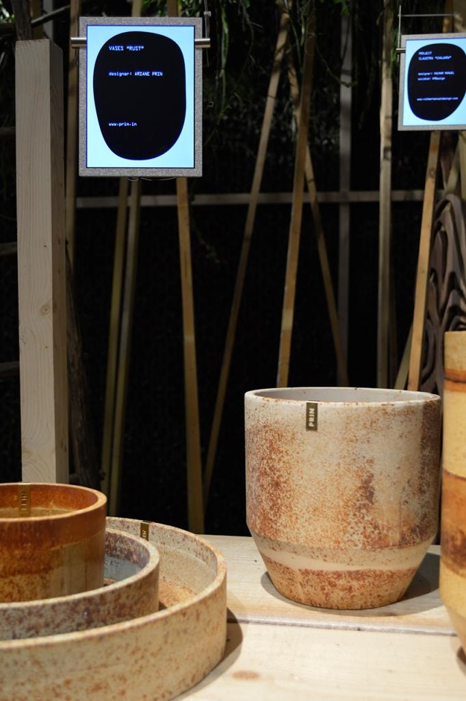 Vases Rust, Ariane Prin.