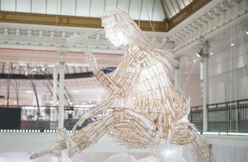 Expo ER XI Ai Weiwei au Bon Marché oeuvre Taifeng ©Gabriel de la Chapelle
