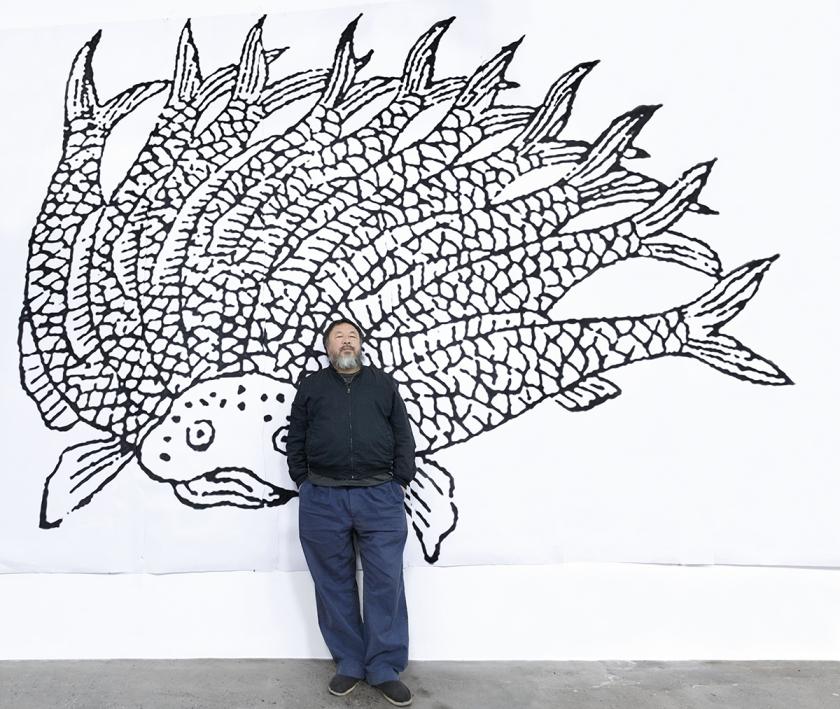 Portrait Ai Weiwei copyright Quentin Labail