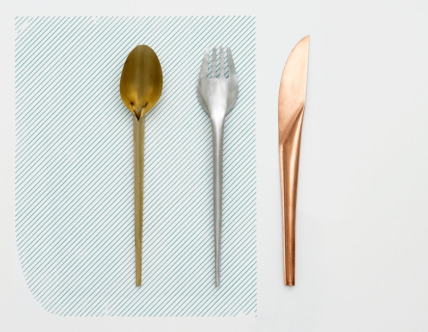 Cutlery by Studio Wieki Somers.