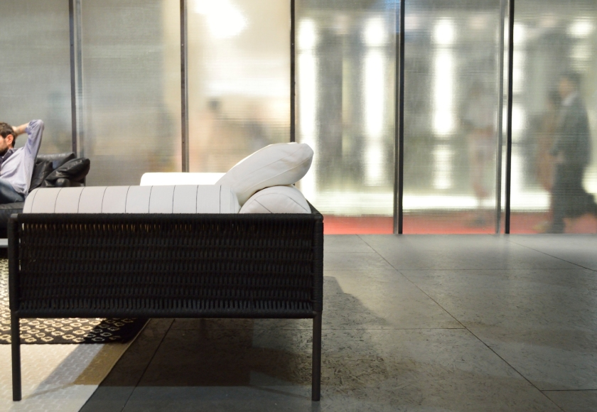 Agra sofa and armchair by David Lopez Quincoces.