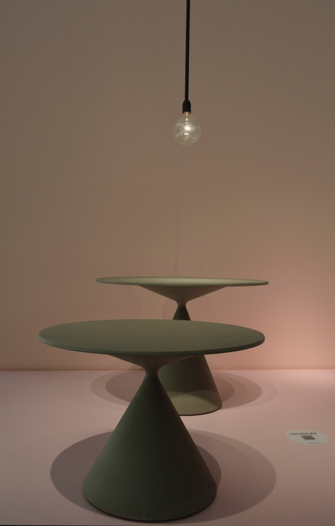 MiniClay tables by Marc Krusin.