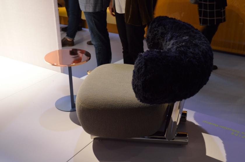 Pipe armchair by Sebastian Herkner.