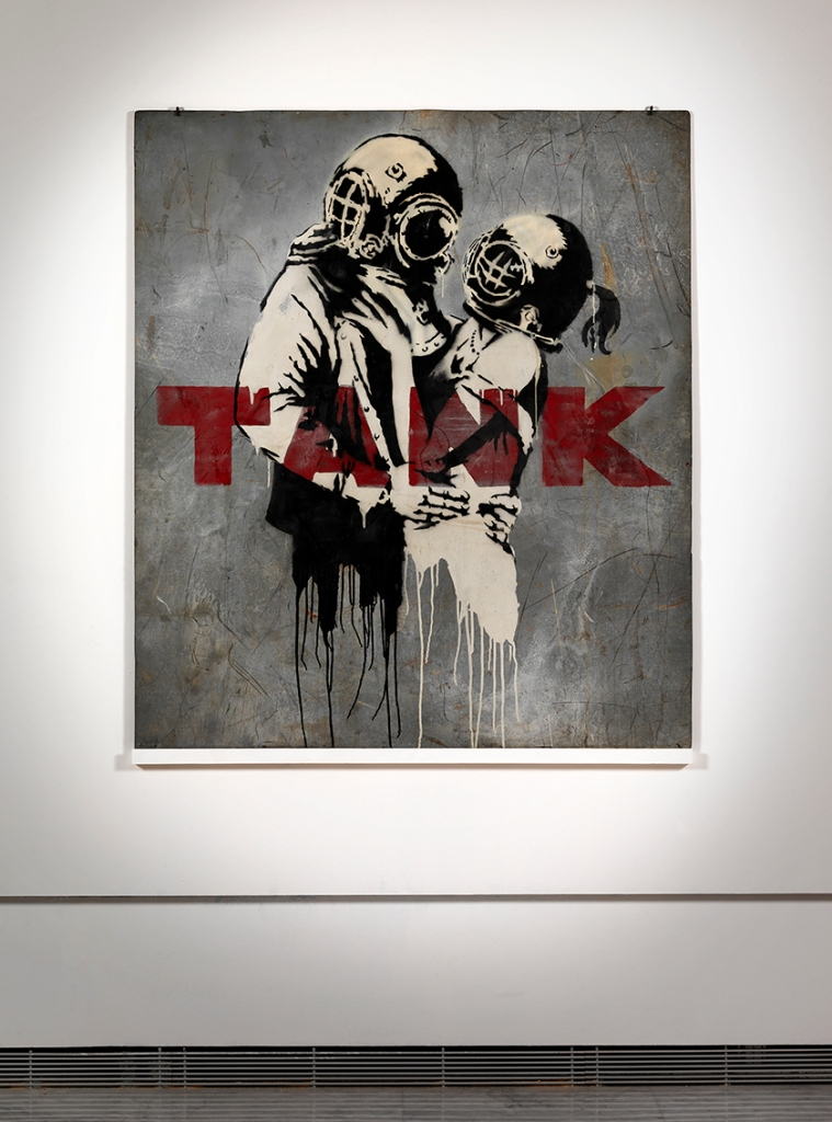 Banksy, Think Tank 2003 cm. 155 x 134_0317